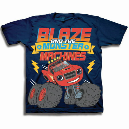 Blaze & the Monster Machines Toddler Boy Short Sleeve - Monsters High Clothes