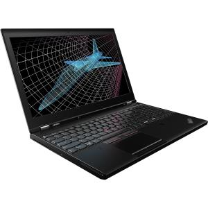 "Lenovo Black 15.6"" ThinkPad P50 20EN001EUS Laptop PC with Intel Core i7-6820HQ Processor, 16GB Memory,... by Lenovo"