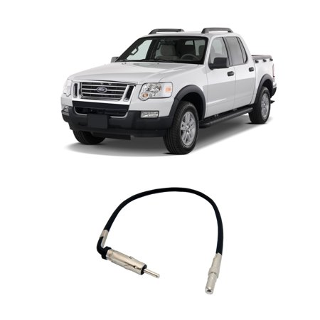 Ford Explorer Antenna - Ford Explorer Sport Trac 2006-2010 Factory Stereo to Aftermarket Radio Antenna