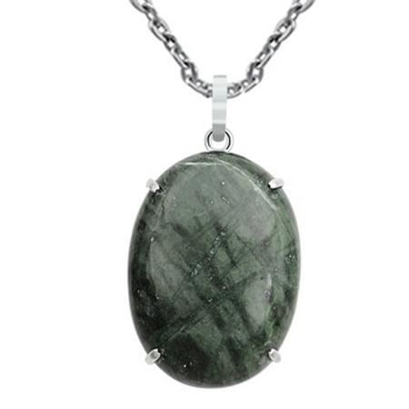 Ocean Jasper Stone - 105 Ct. Ocean Jasper Stone Stylish Pendant 925 Sterling Silver By Orchid Jewelry