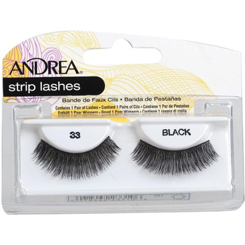 Andrea Strip Lashes, Black [33] 1 pair