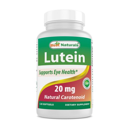 Best Naturals Lutein Softgels, 20mg, 120 Ct