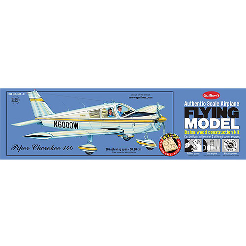 Guillow's Piper Cherokee 140 Laser Cut Model Kit