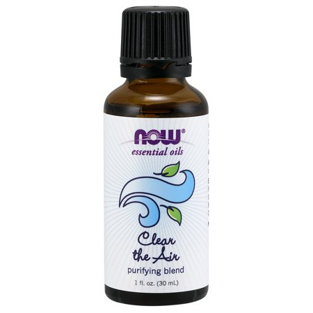 NOW Foods Essential Oils Clean the Air Purifying Blend 1 fl oz - Wyndmere Synergistic Blend