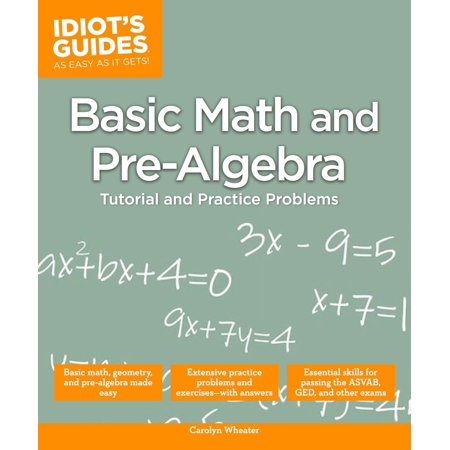 Basic Math and Pre-Algebra - Walmart.com