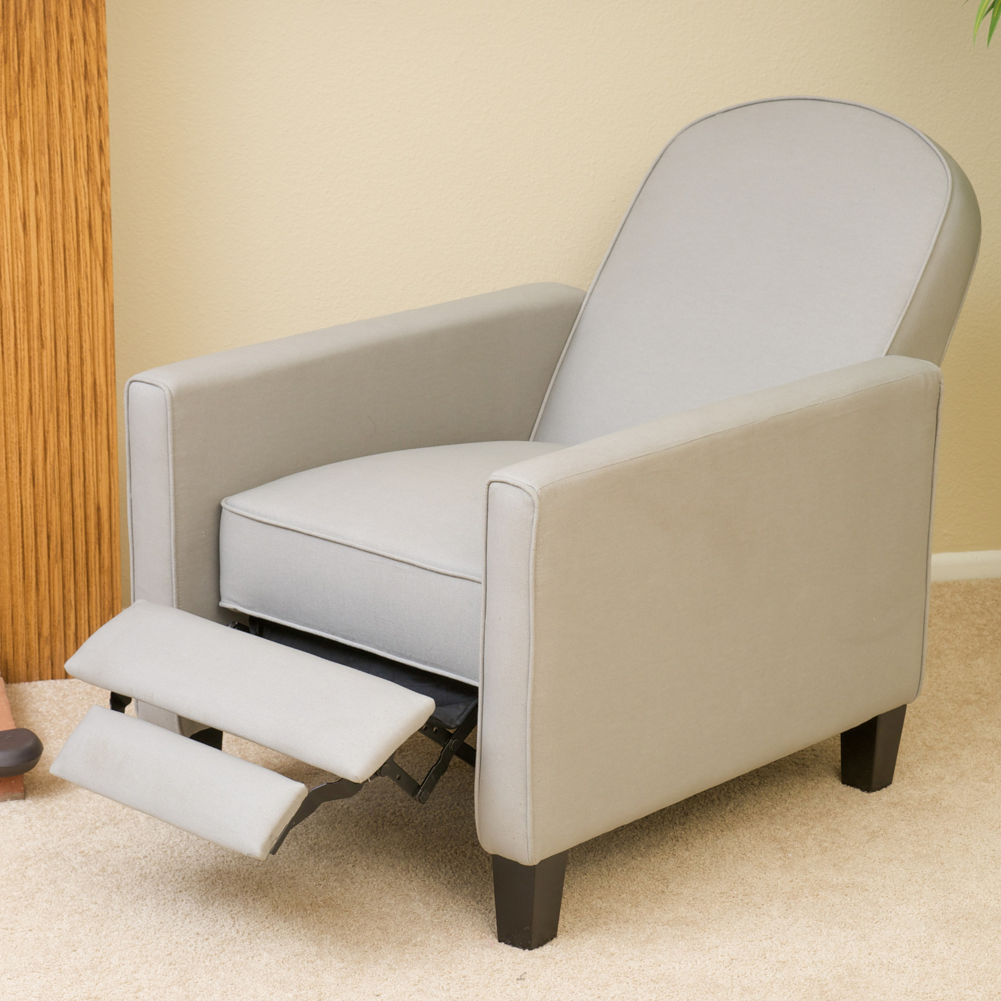 Jamestown Oatmeal Fabric Recliner