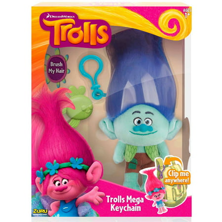 Trolls Large Plush Clip, Branch