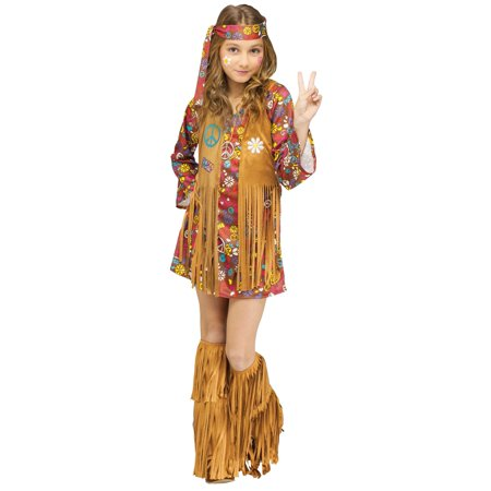 Peace & Love Hippie Costume - 70s Costume (70's Fashion Costumes)