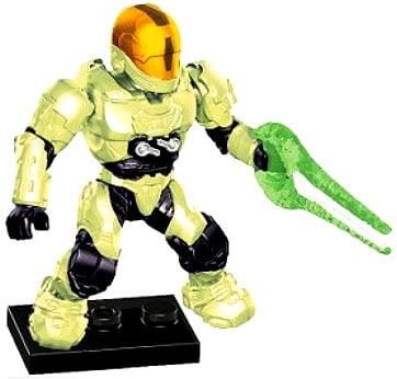 Mega Bloks Halo EVA Spartan Minifigure [Infection Zombie] by