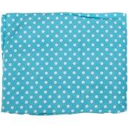 Bacati Elephants Aqua Pin Dots Crib Sheet Set 2 pc Pack