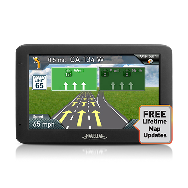 "Magellan RoadMate 5520-LM 5"" Portable Touchscreen GPS Navigation System"
