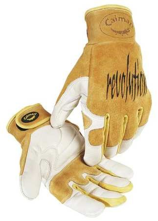 "CAIMAN Welding Gloves,TIG,10"",XL,PR 1828-6"