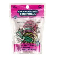 Toner Plastics, Inc. Assorted Colorful Findings, 1 Each