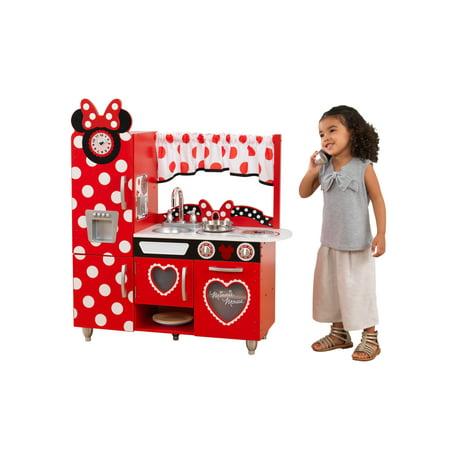 Disney® Jr. Minnie Mouse Vintage Play Kitchen By KidKraft - Walmart.com
