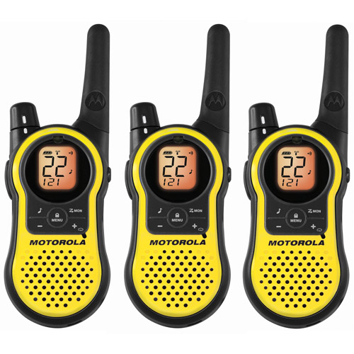 Motorola MH230TPR - 23 Mile Range Talkabout 2-Way Radios, 3-PACK