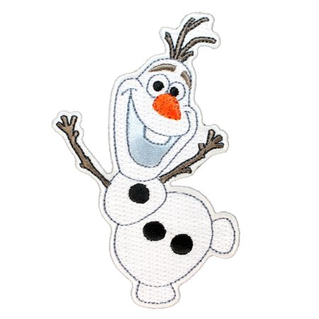 Disney Character Clothes (Olaf Snowman Patch Frozen Disney Character Movie Craft Apparel Iron-On)