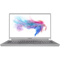 "MSI Prestige P75 Creator-893 17.3"" Notebook - 3840 x 2160 - Core i9 i9-9880H - 64 GB RAM - 2 TB SSD - Space Gray with Silver Diamond Cut - Windows 10 Pro - NVIDIA GeForce RTX 2080 (Max-Q) with 8"