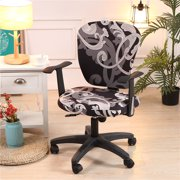 Spandex Office Computer Chair Cover Stretchable Rotate Swivel Chair Covers