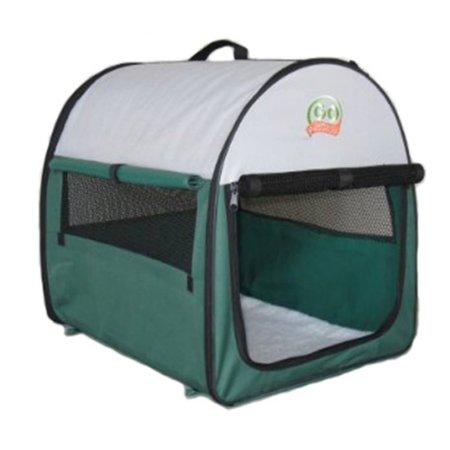 Go Pet Club Soft Pet Crate Green Walmart Com