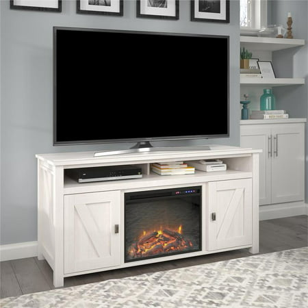 Ameriwood Home Farmington Electric Fireplace TV Console up to 60