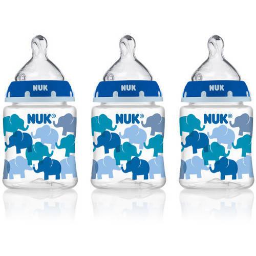 NUK 5-oz Trendline Tie Dye Baby Bottles, BPA-Free, 3pk