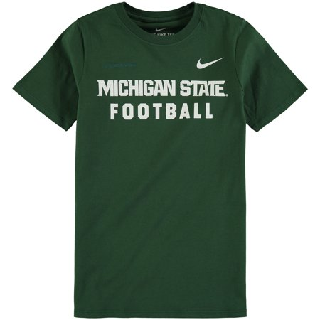 Nike Pro Mens Core (Michigan State Spartans Nike Youth Core Facility T-Shirt - Green)
