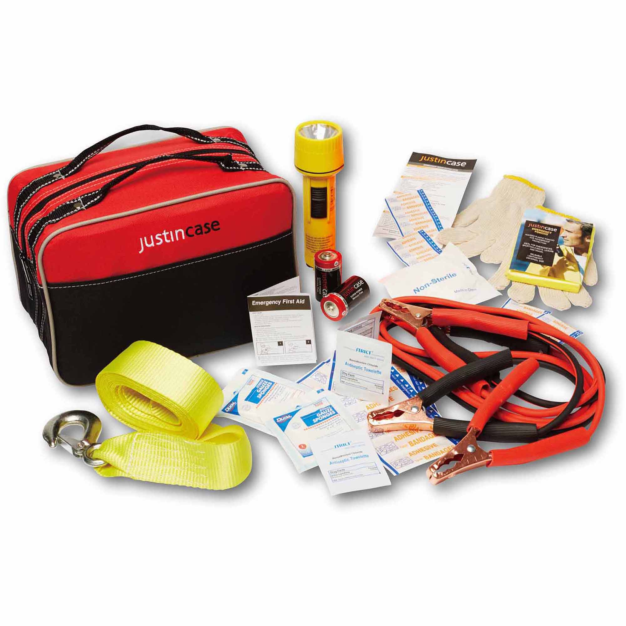 Click here to buy Justin Case Travel Pro Auto Safety Kit by justincase.