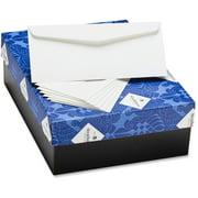 Strathmore Mohawk 24 lb. No. 10 Business Envelopes, Bright White, 500 / Box (Quantity)