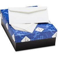 Strathmore, MOWM45773, Mohawk 24 lb. No. 10 Business Envelopes, 500 / Box, Bright White