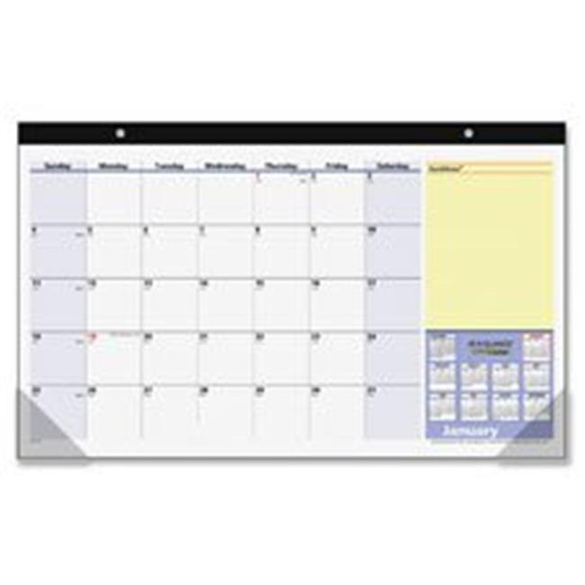 QuickNotes 13-Month Compact Desk Pad
