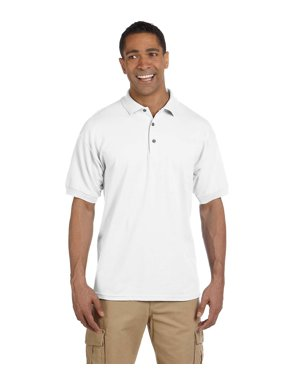7a788d56f2bb Product Image Branded Gildan Adult Ultra Cotton 65 oz Piqué Polo Shirt -  WHITE - XL (Instant