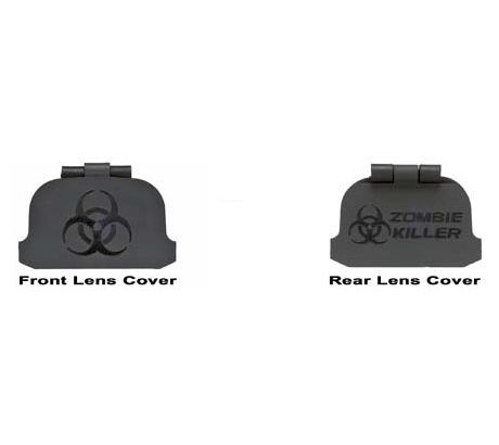 GG&G Lens Covers for EOTech 512 and 552 Series,Zombie Killer by