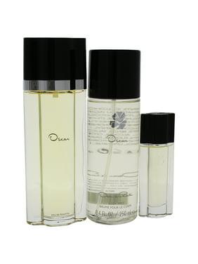 Oscar De La Renta Oscar De La Renta 3.4oz Eau De Toilette Spray, 0.5oz Eau De Toilette Spray, 8.4oz Body Mist 3 Pc Gift Set