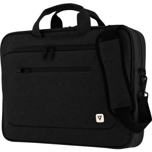 "V7 Professional 15.6"" Slim Laptop Case with Shoulder Strap"