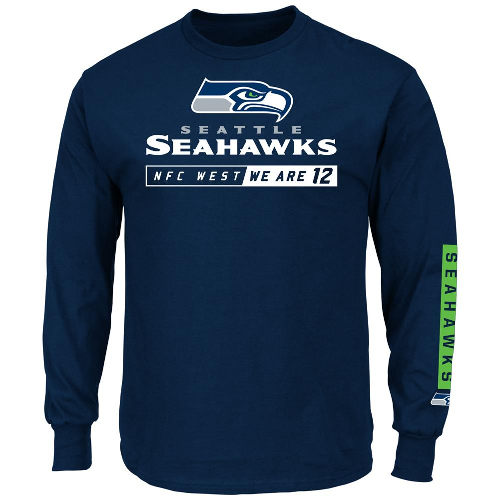 Primary Receiver Seattle Seahawks Long Sleeve T-Shirt