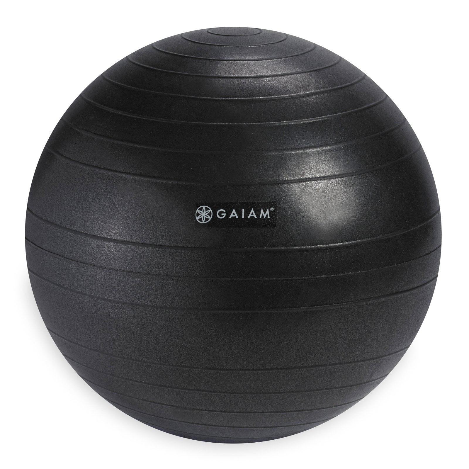 Gaiam Balance Ball Chair Replacement Ball, Charcoal, 52cm
