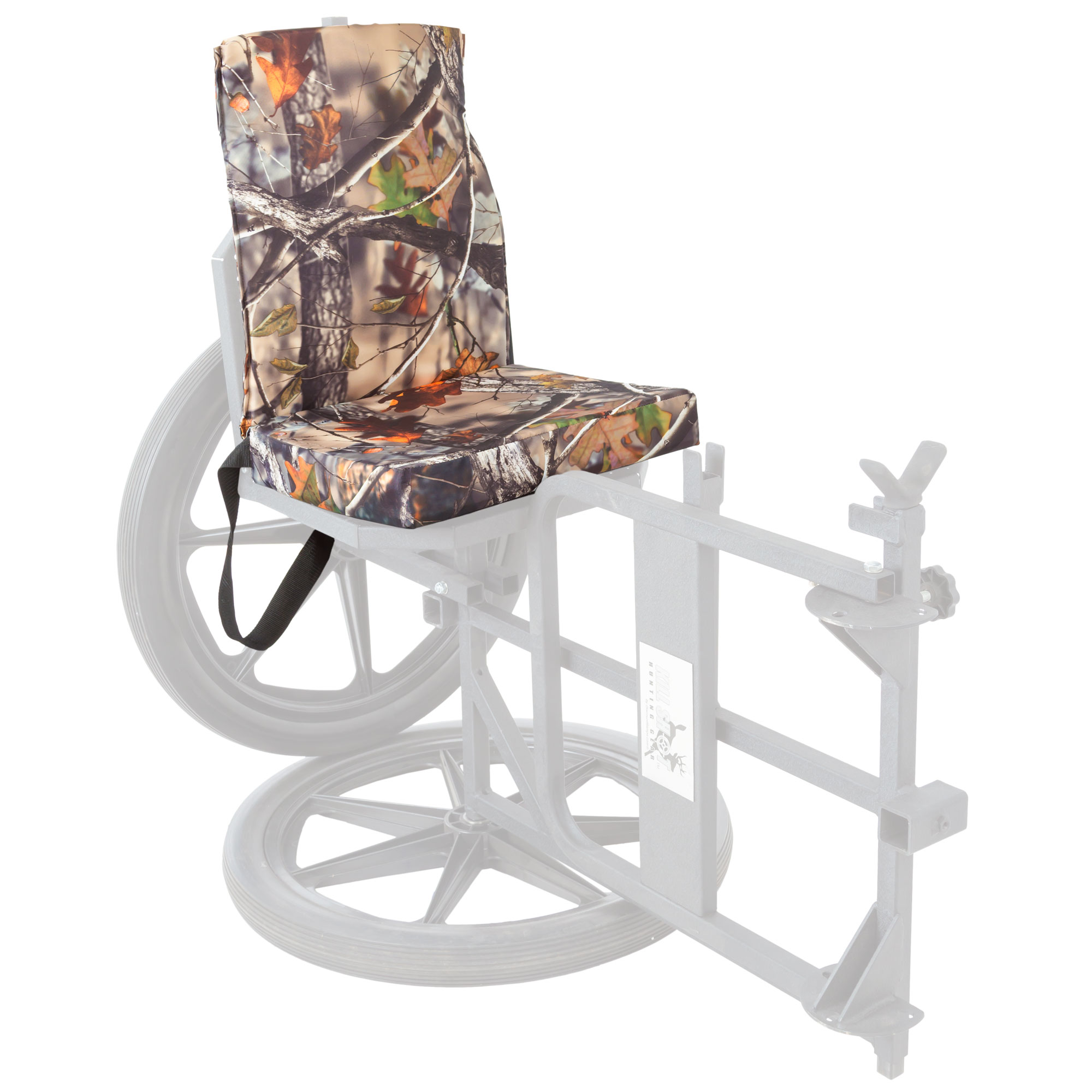 Kill Shot Hunting Chair Waterproof Padded Camouflage Cushion for Multi Purpose Throne KS101 by Discount Ramps