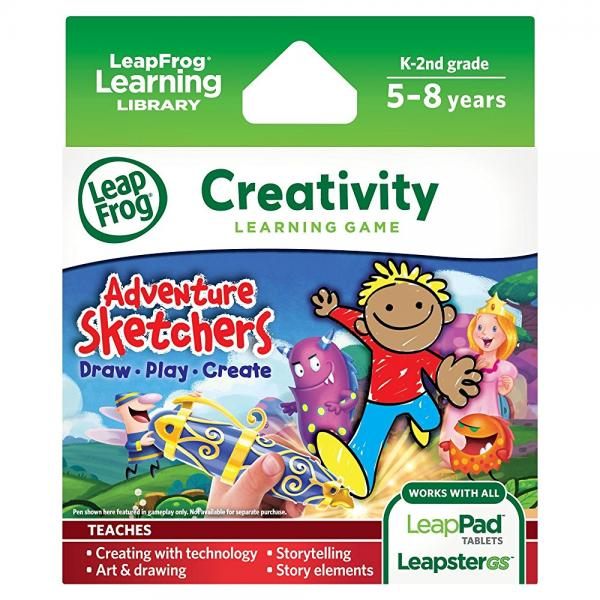 LeapFrog Adventure Sketchers! Draw, Play, Create Learning Game (for LeapPad Tablets and... by