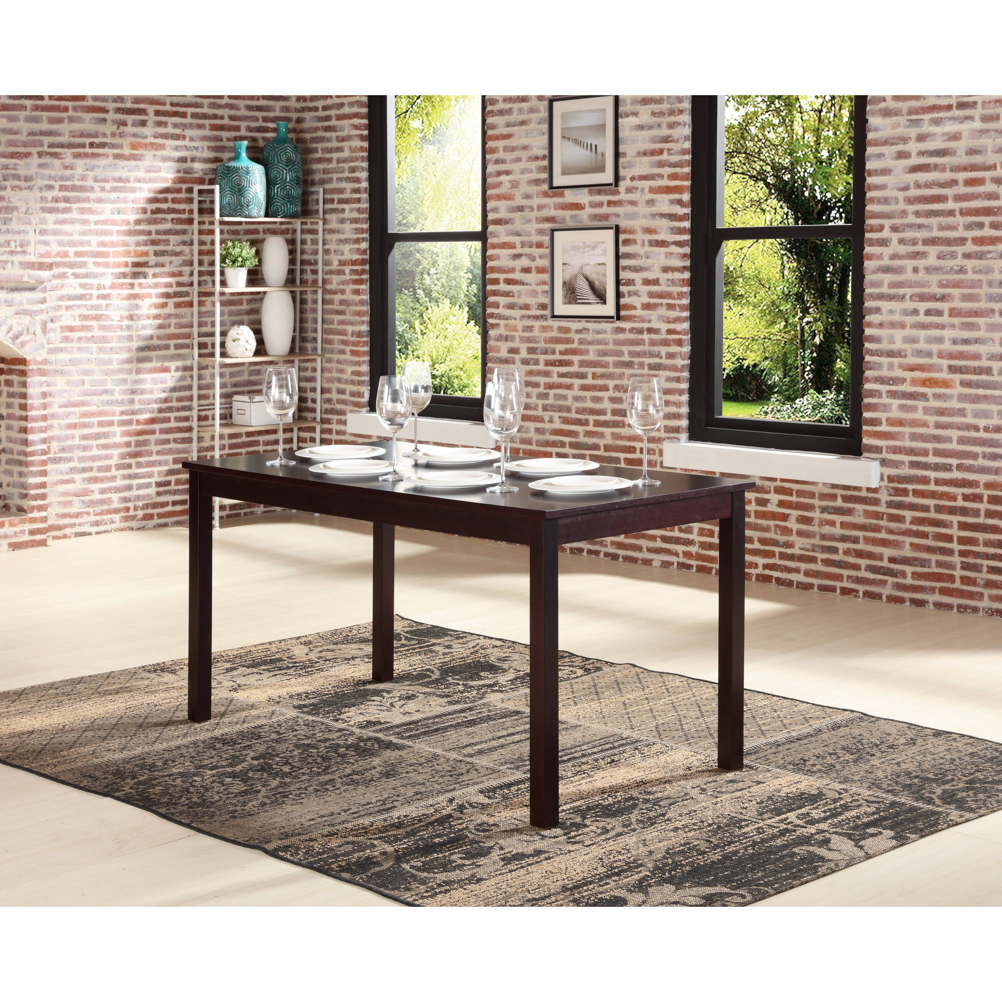 Nice Large Dining Table, Espresso