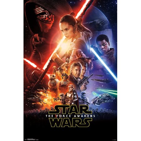 Star Wars The Force Awakens One Sheet Movie Poster 22x34 - Star Student Poster