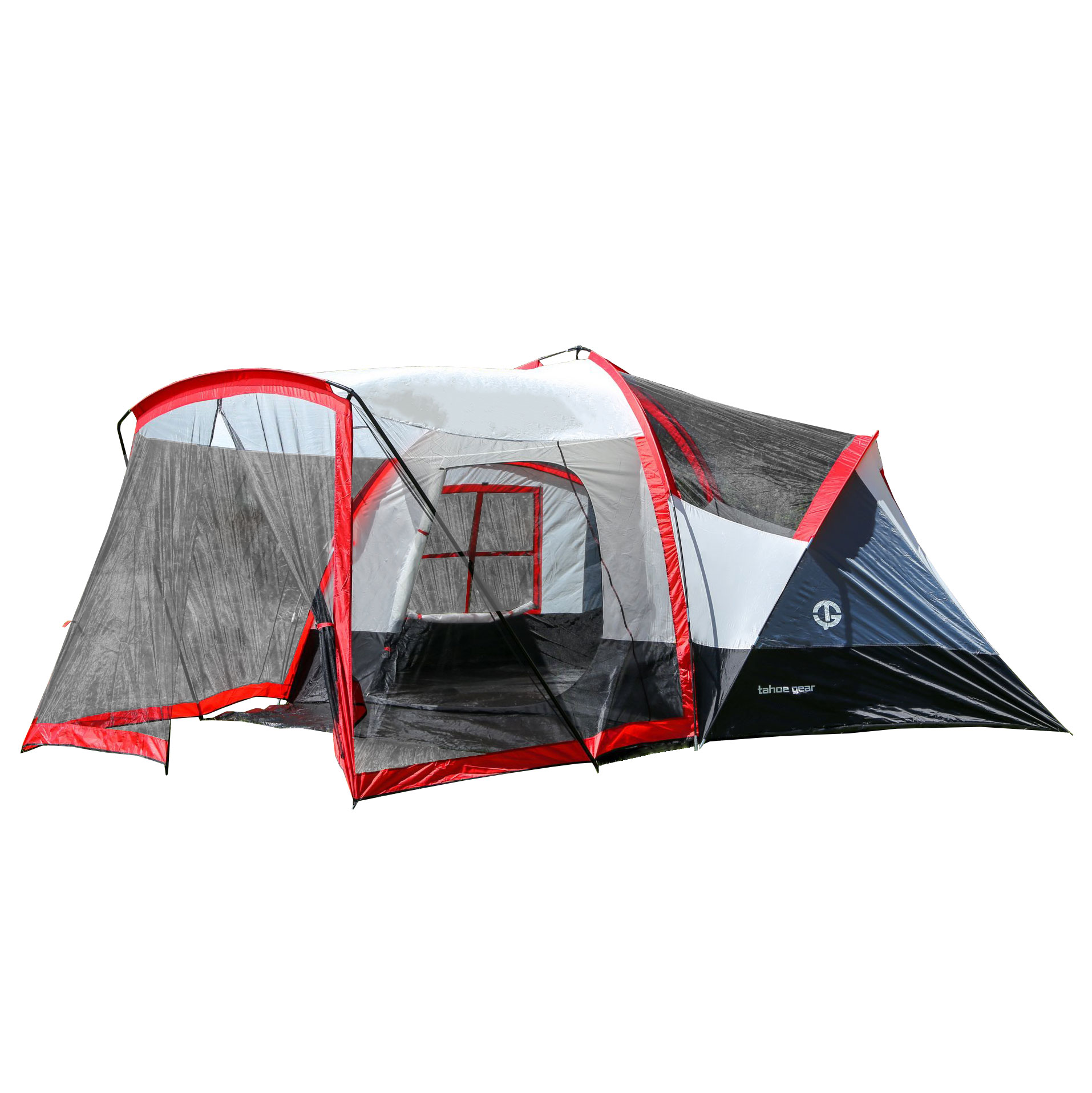 Tahoe Gear Zion 9-Person 3-Season Camping Tent And Screen...