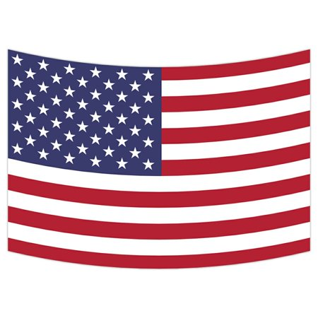 ZKGK American Flag Tapestry Wall Hanging Wall Decor Art for Living Room Bedroom Dorm Cotton Linen Decoration 90x60 Inches (Dora Wall Decorations)