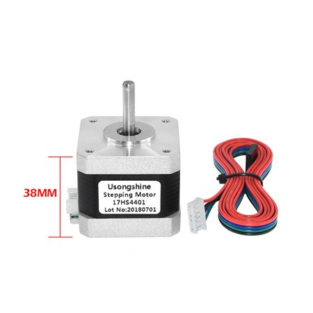 Nema 17 Stepper Motor 42 Motor 4-lead 17HS4401 NEMA17 42BYGH 1.5A Gear Motor with DuPont Line for 3D Printer&CNC - image 6 of 6