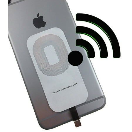 iphone wireless charger receiver nakedcellphone qi. Black Bedroom Furniture Sets. Home Design Ideas