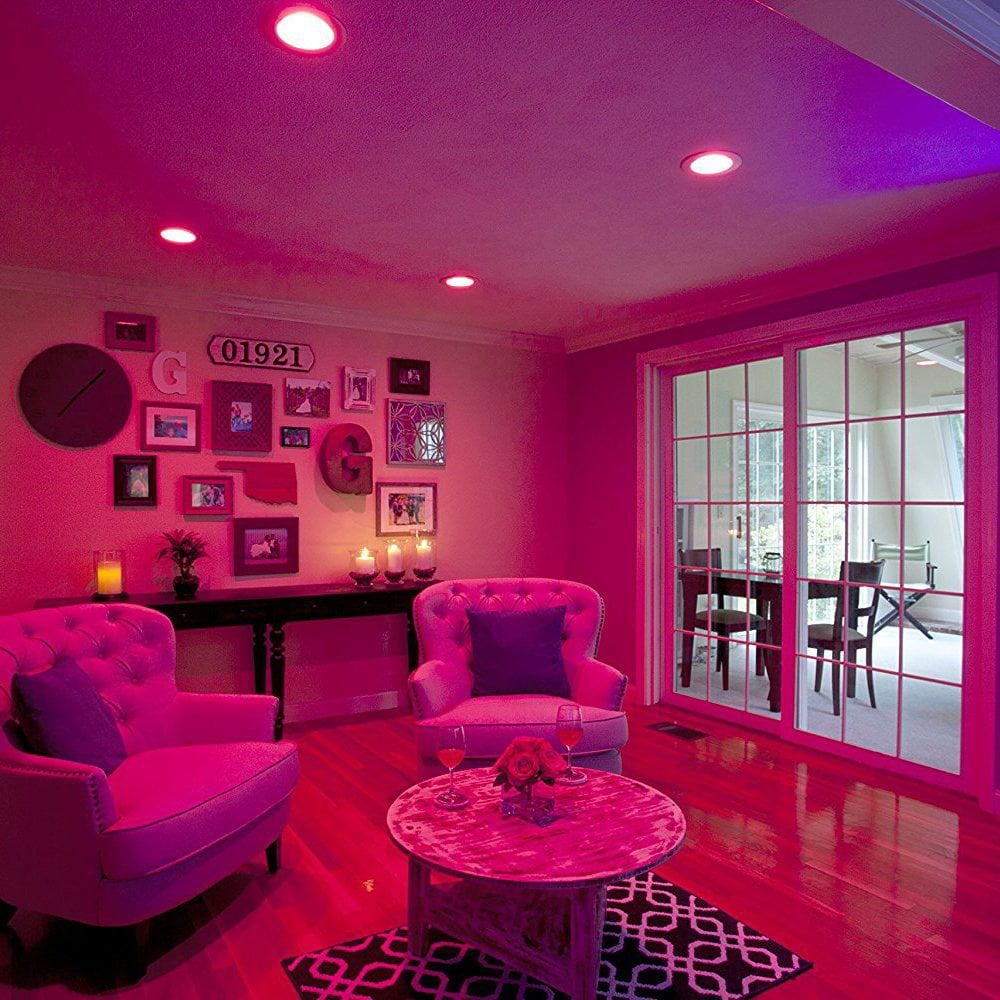 Sylvania Osram Lightify Smart Home 65W BR30 White/ Color LED Light Bulb (6 Pack) - image 8 of 9
