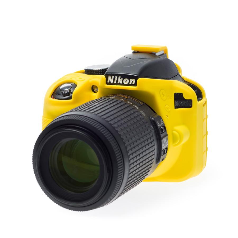 easyCover camera case for Nikon D3300 / D3400 Yellow