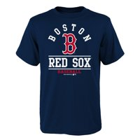 Youth Navy Boston Red Sox Arch T-Shirt