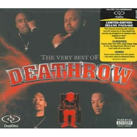 THE VERY BEST OF DEATH ROW [DUAL DISC] [PA] [DIGIPAK] (The Best Of Death Row)