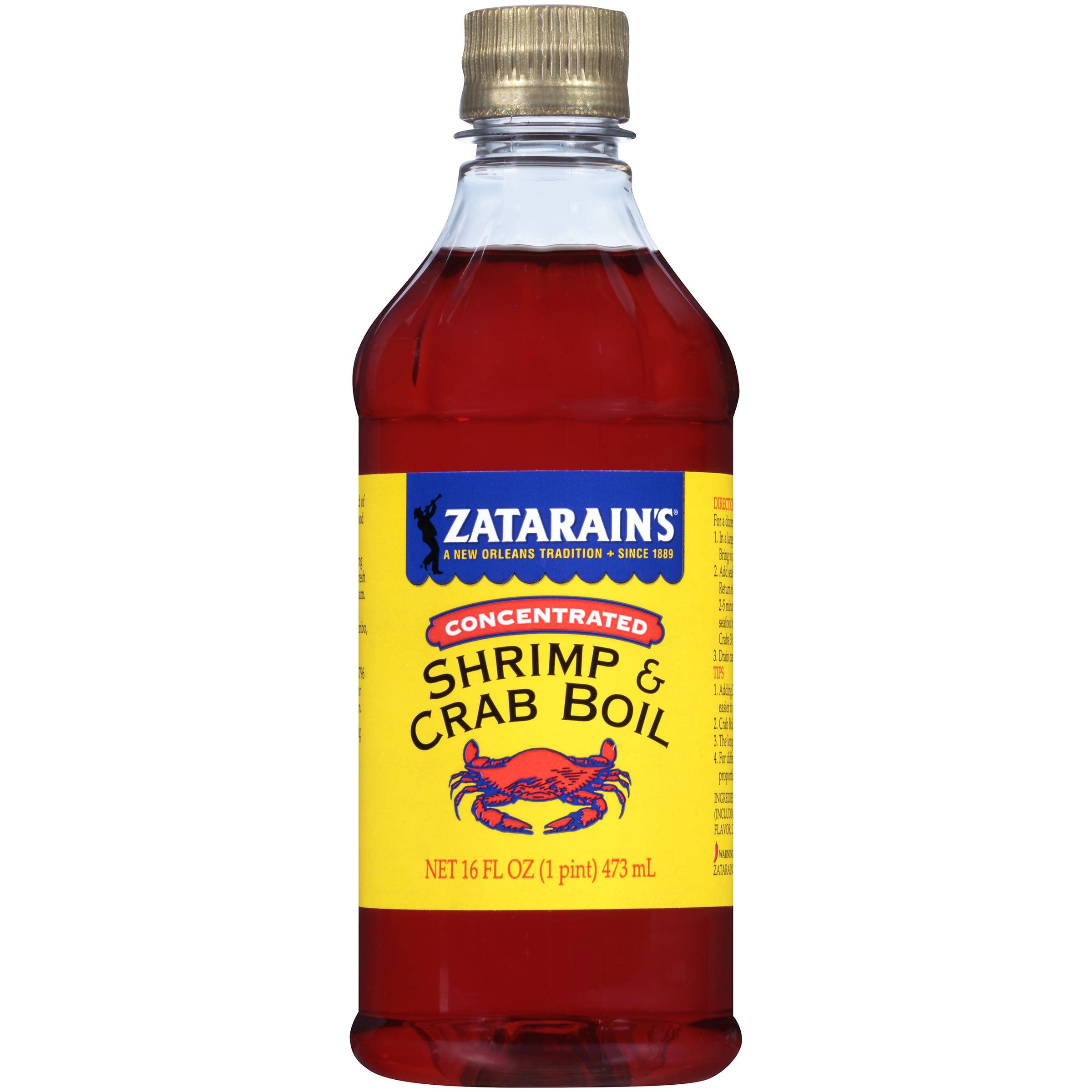 Zatarain's® New Orleans Style Liquid Crab Boil, 16 fl oz