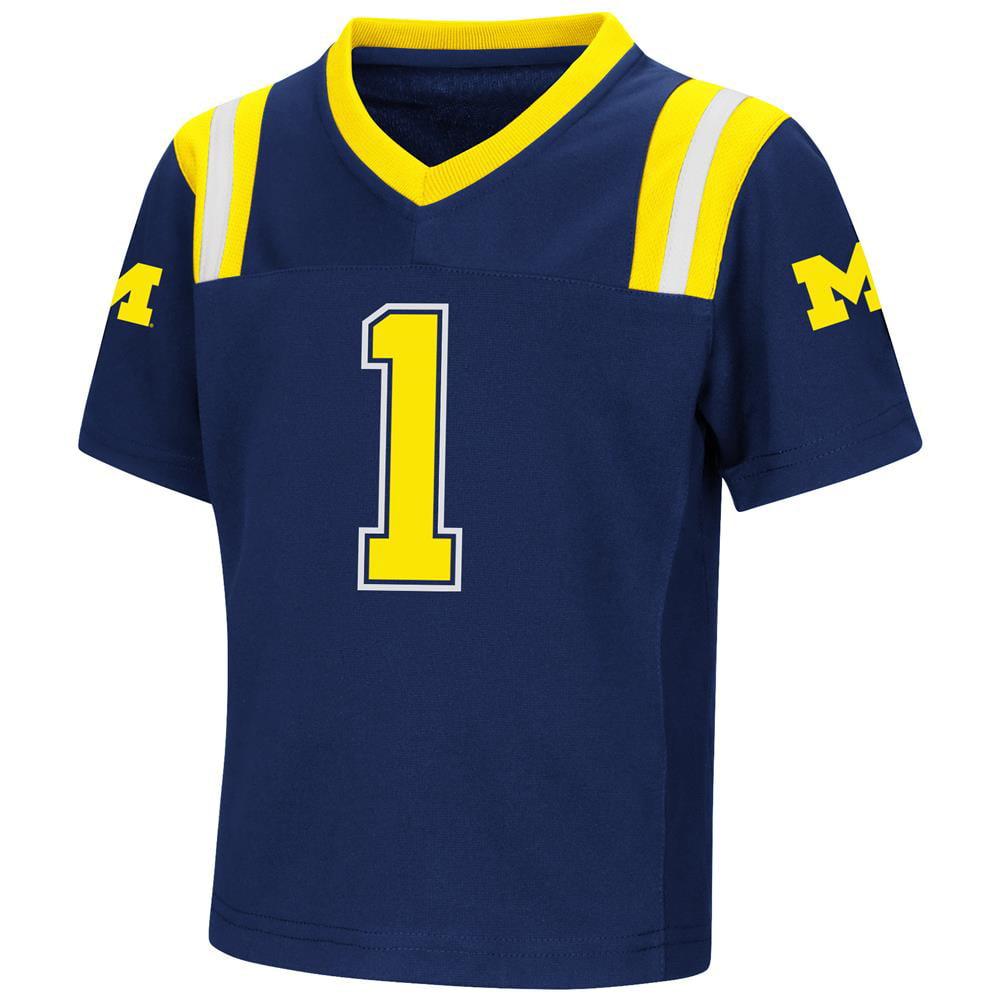 University of Michigan Wolverines Toddler Football Jersey Boy's Replica